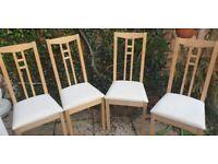 4x Dining Chairs (IKEA Aron)