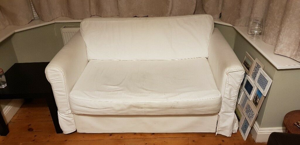 Wondrous Sofa Bed Ikea Hagalund 2 Seat Sofa Bed White In Southampton Hampshire Gumtree Caraccident5 Cool Chair Designs And Ideas Caraccident5Info