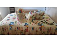 Handmade Bedding for childrens room and accessories