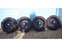 Team Dynamics Jet RS 15 inch wheels and tyres