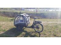 Winther Kangaroo Luxe Electric Cargo Bike