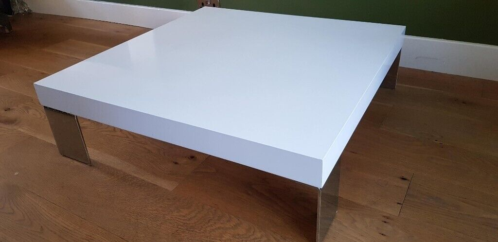 Large White Dwell Coffee Table In West Bridgford Nottinghamshire Gumtree