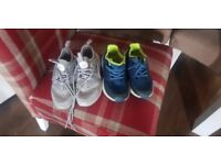 X2 pairs of boys trainers