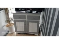 Pine painted sideboard/cupboard