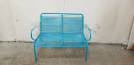 Blue Garden Bench No050930