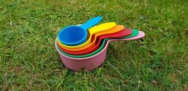Kids Multi Coloured Stacking Cups