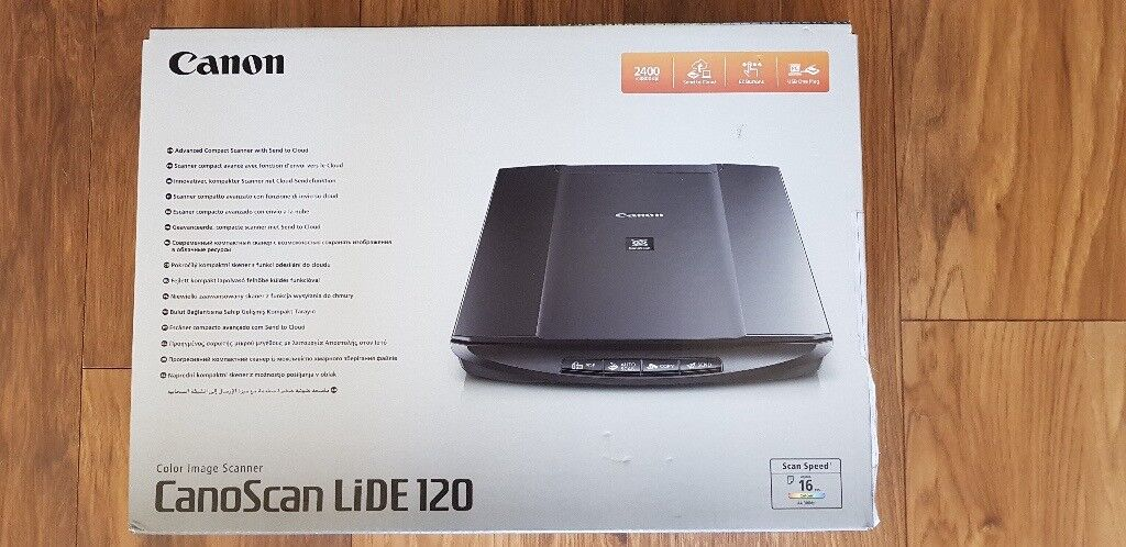 CANON CanoScan LiDE 120 Flatbed Scanner £20 (New in unopened box RRP £50) |  in Caerphilly | Gumtree