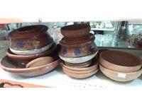 Clay dinner set