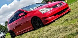 Honda Civic Type R Replica - DC5, Integra, EP2, EP3