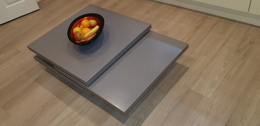 Coffee Table Rotating Square Coffee Table By Dwell In Plymouth Devon Gumtree
