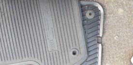 Genuine audi rear mats