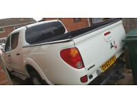 Mitsubishi l200 warrior truck low miles service history long mot good condition pulls well