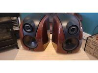 Rogers DB101 desktop studio speakers/monitors