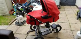 Quinny XL Freestyle. Full set up , from newborn to approx 3 yrs