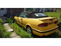 2000 saab 9-3 2litre turbo convertible, redtop b204 turbo engine, corsa /astra /bwm/rx8 conversion