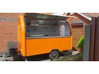 Catering Trailer Food Cart Burger Van Hot Dog Trailer 3000x2000x2300