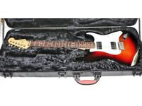 Limited Edition Fender American Standard Humbucker Stratocaster in Sunburst in Pristine Condition