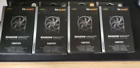 **NEW** Bequiet 120mm Shadow Wings fans PC Gaming