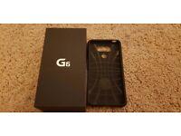 LG G6 32GB on EE with Spiegen case. MINT