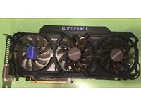 Gigabyte GeForce GTX 760 WindForce 3X OC 4GB