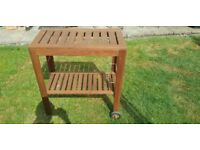BBQ Wooden Table