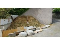 Free Cypress Wood Chips, (Ideal Weed suppressant for garden paths)