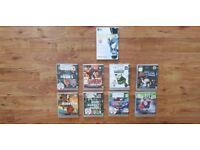 PS 3 Games,Fifa 16,Pes2011,GTA4,Max Payne3,Rainbowsix Vegas2,NBA08,Smack Down2010,Tiger Woods PGA09