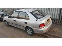 HYUNDAI ACCENT 1.3 AUTOMATIC ( ANY OLD CAR PX WELCOME )