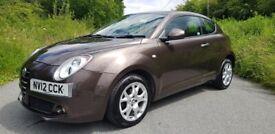 2012 *12* Alfa Romeo Mito Spice **1 PREVIOUS OWNER**FSH**57000 MILES**YEARS MOT**