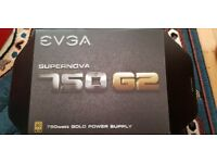 EVGA SuperNOVA 750 G2 Fully Modular EVGA ECO Mode GOLD 750W Power Supply