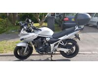 Suzuki Bandit S 1200 Crash bars, heated grips, GIVI top box, recent chain & sprockets, great tourer