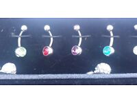 Job lot bulk collection of belly bars ideal car boot JUST £100