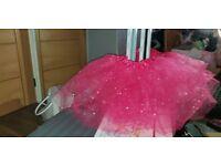 Pink sparkly tutu