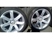 "Genuine Audi TT 18"" alloy wheels 5x112"