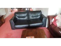 Black Argos 2- seater Sofa Bed Good as new