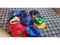 Collection of Retro 80's / 90's Baseball Caps MLB Hats Snapbacks Vintage Major League Baseball Teams