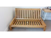 Futon bed frame by the Futon Company / Double bed frame