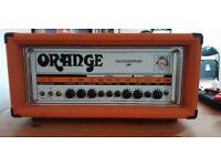 Orange Thunderverb 200 guitar amp head w/ flight case & footswitch
