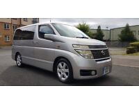 2002 (02) NISSAN ELGRAND HIGHWAY STAR 3.5 PETROL AUTOMATIC 8 SEATER