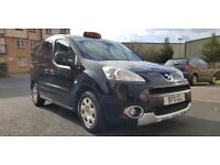 2011 (11) PEUGEOT PARTNER TEPEE TAXI 1.6 HDI CAB DIRECT WHEELCHAIR ACCESS EURO 5 ENGINE