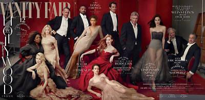 Vanity Fair Magazine Hollywood Issue Steve Bannon Harvey Weinstein 2001