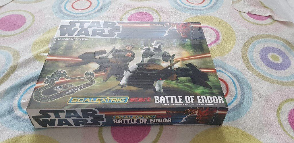 Star Wars Scalextrix never used