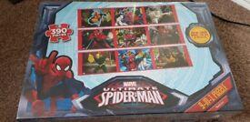 Brand new Spiderman Jigsaw 9 in 1