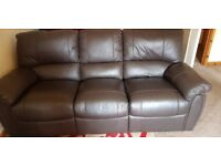 2 SEATER RECLINER AND 3 SEATER RECLINER!!!