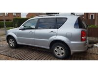 2009 7seater Automatic Ssangyong Rexton for sale £3250 ono