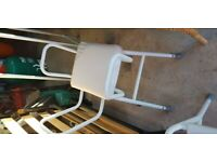 Shower stool and perch stool