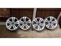 4x BMW Alloy Rims 5x120 7.5j X 17
