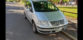 VW SHARAN 2.0 TDi 140BHP SILVER 6 SPEED MANUAL GEARBOX 7 Seater