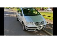 VW SHARAN 2.0 TDi 140BHP SILVER 6 SPEED MANUAL GEARBOX 7 Seater