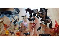Loads of horse toys amazing collection . Farm set included!
